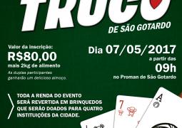 Portal SG AGORA lança Torneio de Truco Beneficente em São Gotardo