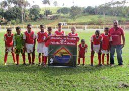 Escolinha de futebol para crianças carentes de São Gotardo disputa Copa Regional Mirim de 2017