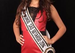 Rainha de 2013 agora concorre a Miss Mundo Minas Gerais