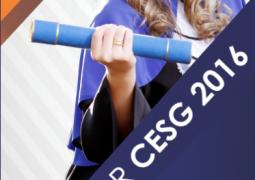 Cursos de Administração e Direito do CESG, obtém nota 4 em escala de 0 a 5 em Avaliação do Ministério da Educação
