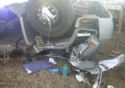 Pai e filho de São Gotardo sofrem acidente e adolescente não resiste.