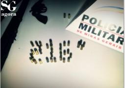 Bandidos roubam arma de Fazendeiro em São Gotardo