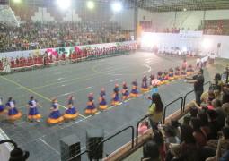 Festival Folclórico lota Poliesportivo na continuação dos eventos em comemoração ao aniversário de São Gotardo