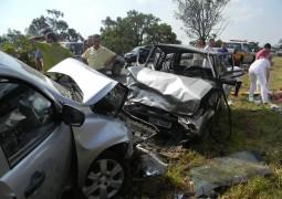 Mais um forte acidente acontece próximo ao Rio Paranaíba