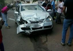 Grave acidente acontece no cruzamento da Avenida Rui Barbosa próximo ao Posto Pantera