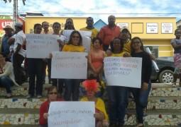 Em Campos Altos professores reivindicam aumento salarial
