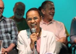 Marina Silva declara apoio a Aécio