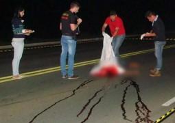 Homem morre após ser atropelado duas vezes na MG 354