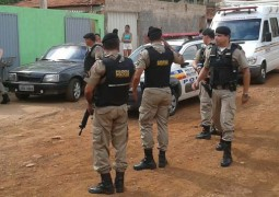 Polícias Civil e Militar agem em parceria para cumprirem mandados de prisão em Patos de Minas