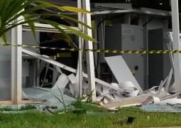 Bandidos explodem caixa eletrônico de Agência Bancária em São Gotardo
