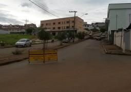 Perigoso cruzamento em frente a Rodoviária necessita de sinalização urgente