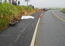 Funcionário de Prefeitura de Arapuá morre em grave acidente na BR-354