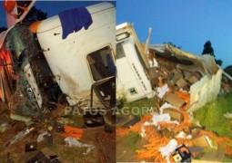 Mais um grave acidente acontece na Curva do Belvedere na BR 354, próximo a Arapuá