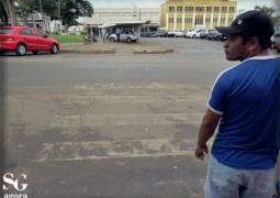 Faixa de pedestre é pouco respeitada em São Gotardo
