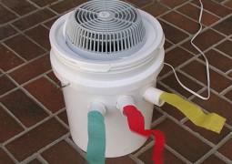 Dica neste calor: Aprenda a fazer um ar condicionado caseiro e funcional