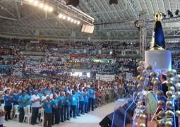 6ª Romaria Nacional do Terço dos Homens acontece em Aparecida do Norte e Sangotardenses marcam presença