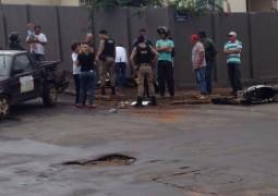 Acidente envolvendo moto e carro acontece em São Gotardo na tarde desta quarta-feira