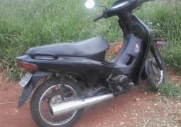 Motocicleta furtada em Tiros é localizada em Carmo do Paranaíba