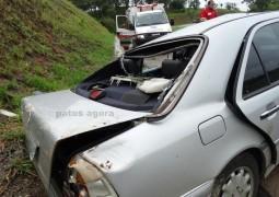 Vereadora de Carmo do Paranaíba sofre acidente na BR-262