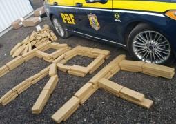 Homem é preso com mais de 180 quilos de maconha na BR-262 em Araxa