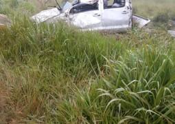 Na madrugada de Domingo, novo acidente acontece e deixa homem em estado grave de saúde na B4-354 próximo a São Gotardo