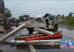 Grave acidente envolvendo 5 veículos, faz uma vítima fatal e deixa vários feridos na BR-365