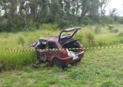 Criança morre em grave acidente de trânsito na BR-262 próximo a cidade de Ibiá