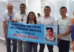 Campanha em prol do pequeno Miguel mobiliza São Gotardo e família agradece emocionada