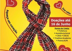 CRAS de São Gotardo realiza Campanha do Agasalho 2015