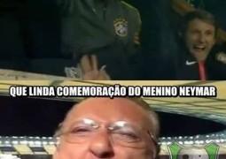 Apesar da vitória Brasileira por 2×1 sobre a Venezuela, internautas não perdoam e Galvão Bueno, Ronaldo e Neymar viram memes