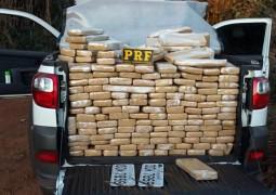 Polícia Rodoviária Federal apreende cerca de 800 quilos de maconha em Campos Altos