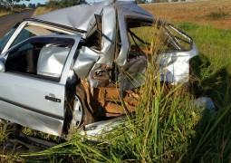 Grave acidente acontece próximo a Tiros na madrugada de sábado para domingo