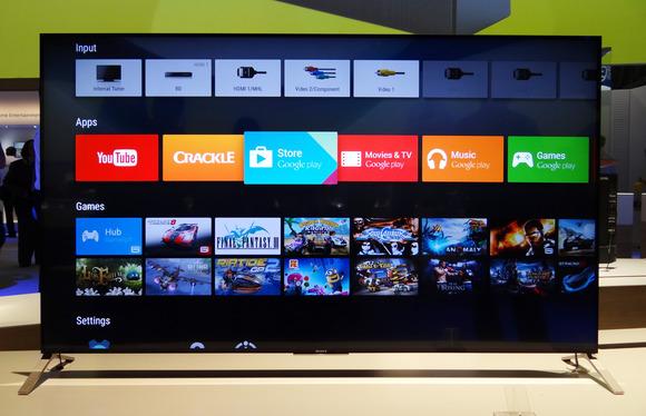 6ad6e9e67 Sony apresenta primeira TV com sistema Android do Brasil