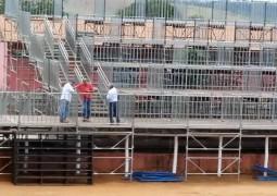 Quase tudo pronto para a FENACEN e a FENACAMPO 2015 em São Gotardo