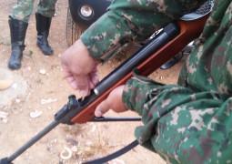 Nova apreensão de arma é feita pela Polícia Ambiental de São Gotardo