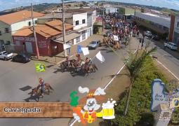 Vídeo: Confiram imagens aéreas da Cavalgada da FENACEN 2015