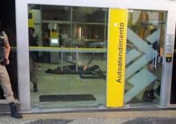 Três homens arrombam porta de Agência Bancária em Patos de Minas, mas acabam presos pela Polícia Militar