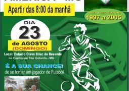 Em parceria com o Sparta, América-MG realiza seletiva em São Gotardo neste domingo