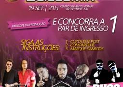 Quer ganhar um par de ingressos para a 1ª Balada Mix de São Gotardo?