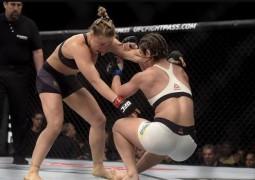 Ronda massacra Bethe e nocauteia brasileira em 34 segundos