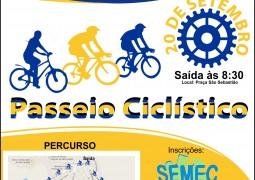 Nas comemorações do centenário de São Gotardo Passeio Ciclístico acontece no dia 20 de Setembro