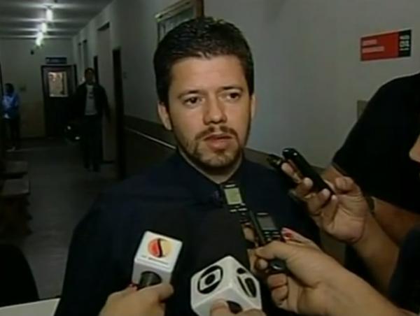 Delegado Doutor Conrado Costa da Silva é quem conduz as investigações/Foto:Reprodução/Portal G1