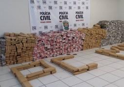 Quase duas toneladas de maconha são apreendidas em fazenda no município de Patos de Minas