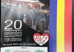 Orquestra da Banda de Música da 10ª RPM se apresenta em São Gotardo neste Domingo