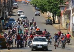 Passeio Ciclístico é realizado em São Gotardo