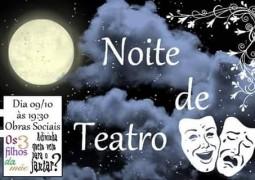 Noite de Teatro acontece em São Gotardo nesta sexta-feira (09)
