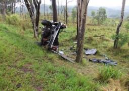 Duas pessoas de Campos Altos morrem em grave acidente na BR-262