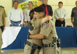 Polícia Militar troca de comando em São Gotardo e Capitão Marco Aurélio é apresentado