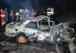 Homem morre carbonizado em acidente na BR-262 envolvendo caminhão de Patos de Minas