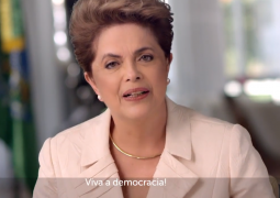 Durante a madrugada Dilma Rousseff divulga vídeo contra o impeachment na internet